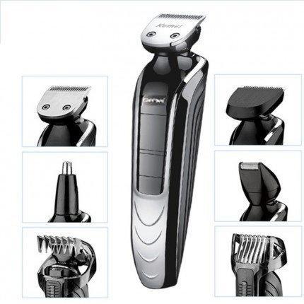 Набір для стрижки волосся і бороди, тример Gemei GM-582