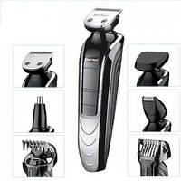 Набір для стрижки волосся і бороди, тример Gemei GM-582, фото 1