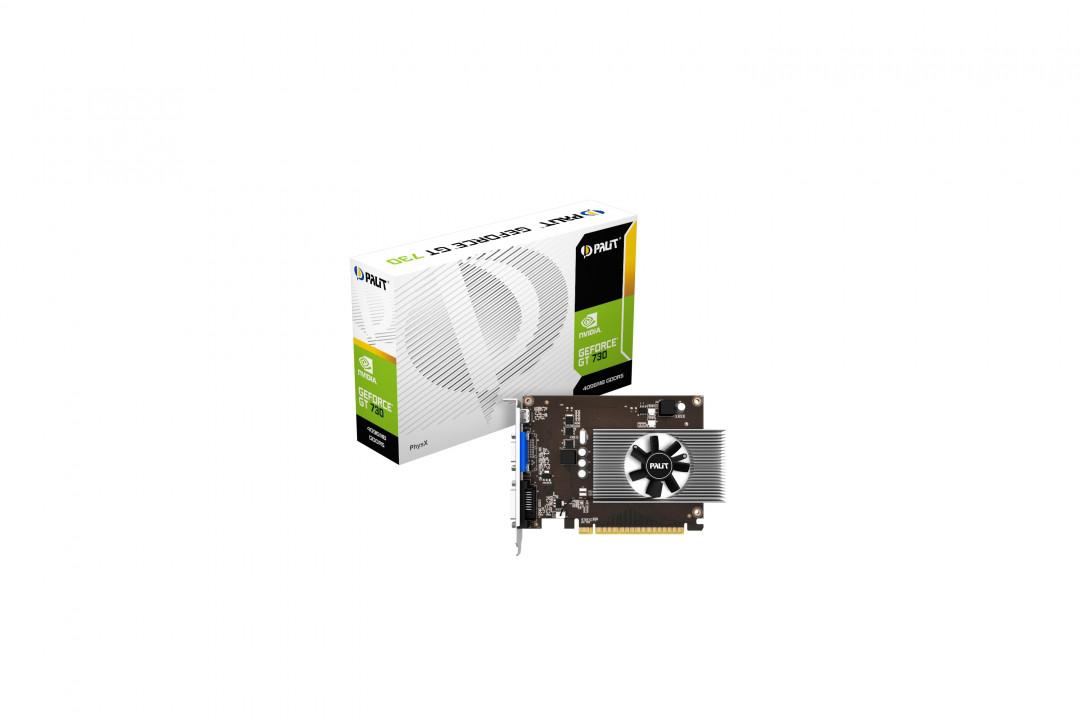 Видеокарта PALIT GeForce GT730 4GB (NE5T730013G6-2082F)