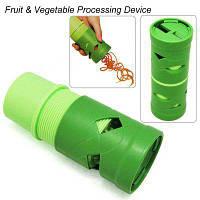 Зеленый Вегетарианский Твистер Легко Фрукты Растительное Резак Slicer Посуда Устройство Обработки 52848
