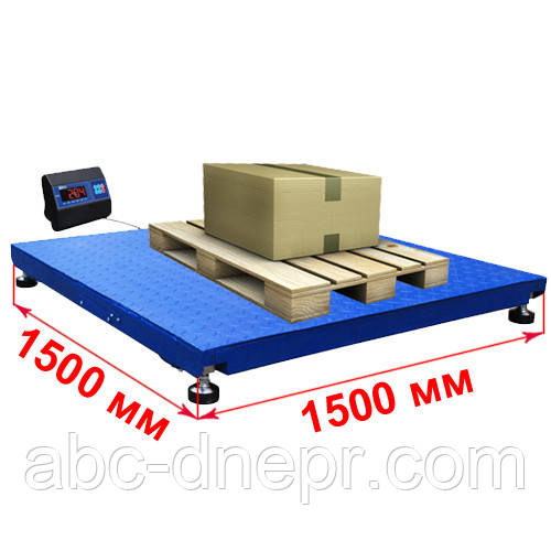 Весы платформенные 1500х1500 (1000, 1500, 2000, 3000 кг)