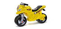 Мотоцикл 2-х колесный  музыкальный, лимонный, в пак. 65*46см, ТМ Орион, произв-во Украина (1шт)(501в3ЛИМОН)