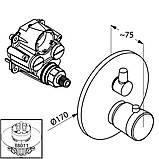 Змішувач для ванни Kludi Balance 528300575 з термостатом, фото 2