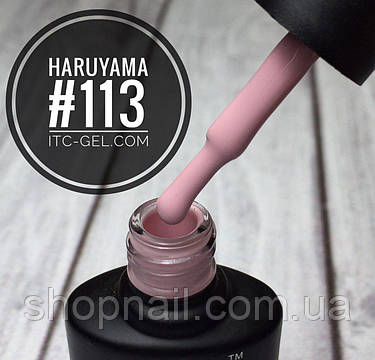 Гель-лак Haruyama №113 (пудровый розовый), 8 мл, фото 2