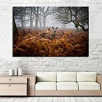 Картина - Олени в Национальном парке