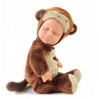 Кукла новорожденная игрушка в одежде в стиле обезьяны