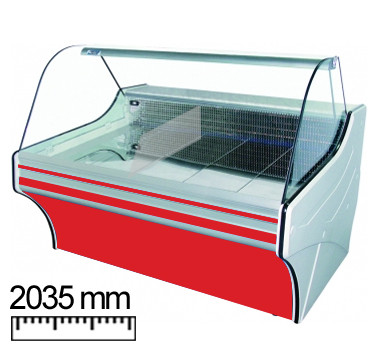 Холодильная витрина Cold VIGO 20 IIk (w-20sg-w)