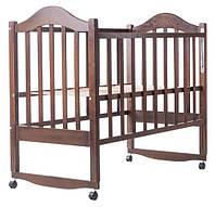 Кровать Дина Клен (Качалка) Крашеная венге (шоколадный)