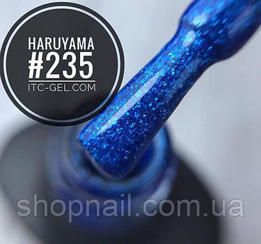 Гель-лак Haruyama №235 (синий электрик с блестками), 8 мл, фото 2