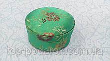 Шкатулка тканевая для украшений кольца или сережек