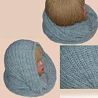 Новинки осенне-зимнего сезона - вязаные шарфы и шарфы-снуды