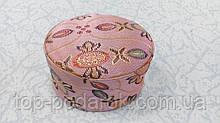 Скринька тканинна для прикрас кільця або сережок