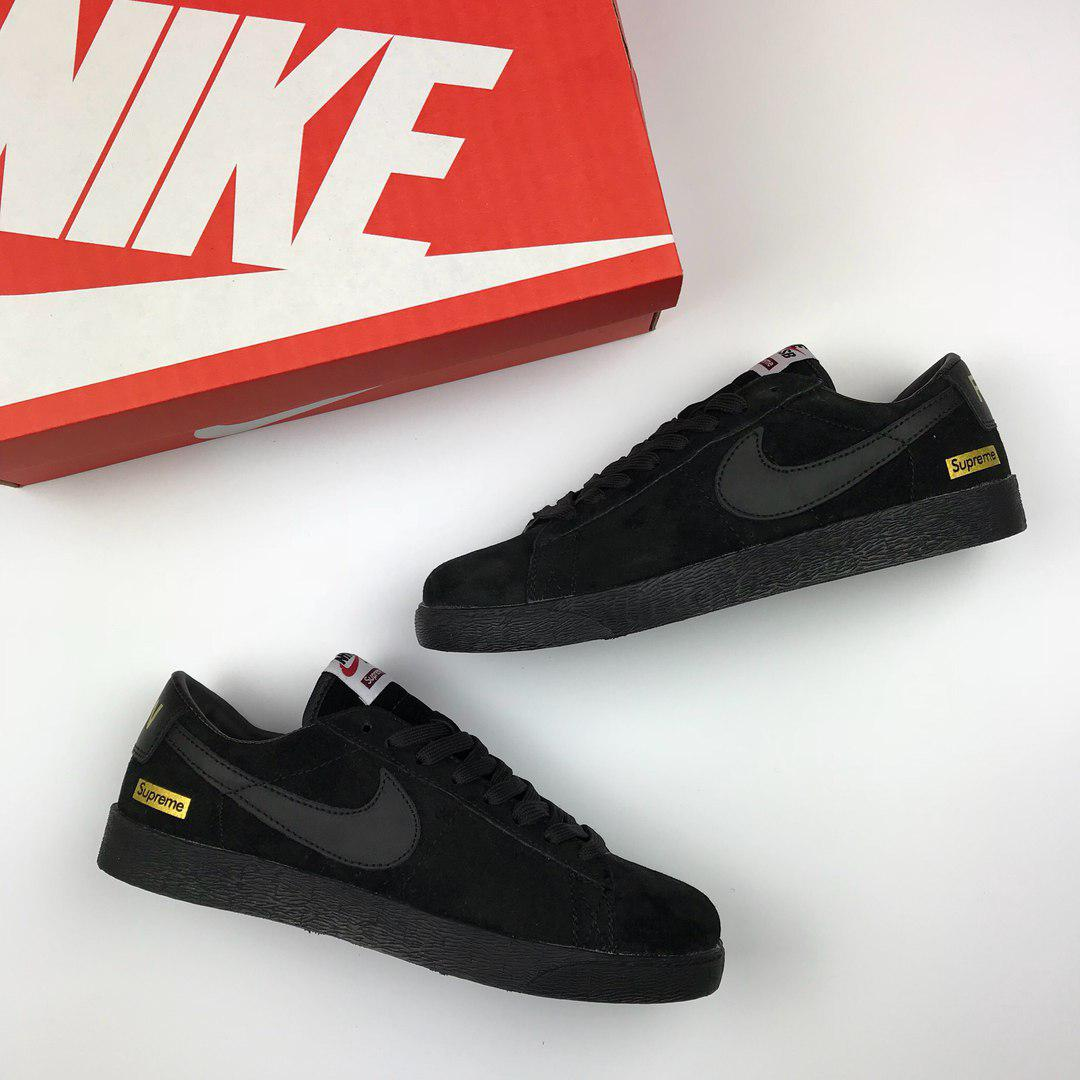 1c69b0e8 Кроссовки мужские Nike Supreme (черные), ТОП-реплика: продажа, цена ...