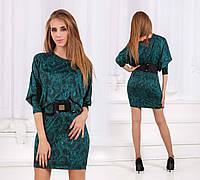 """Вечернее женское платье-туника до больших размеров """"Фарида"""" в расцветках"""