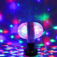 YWXLight E27 полный Цвет светодиодный свет авто вращающийся этап эффект Рождество освещения переменного тока 85-265В Белый