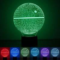 Творческие формы шар декоративный Малый Светильник ночи СИД Разноцветный