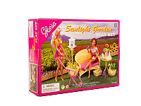 Игрушечная мебель для куклы Барби gloria 9926 Солнечный сад