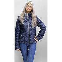 Куртка осенняя 40-74 размеры КС-3 Темно-синяя ОСН6003-6