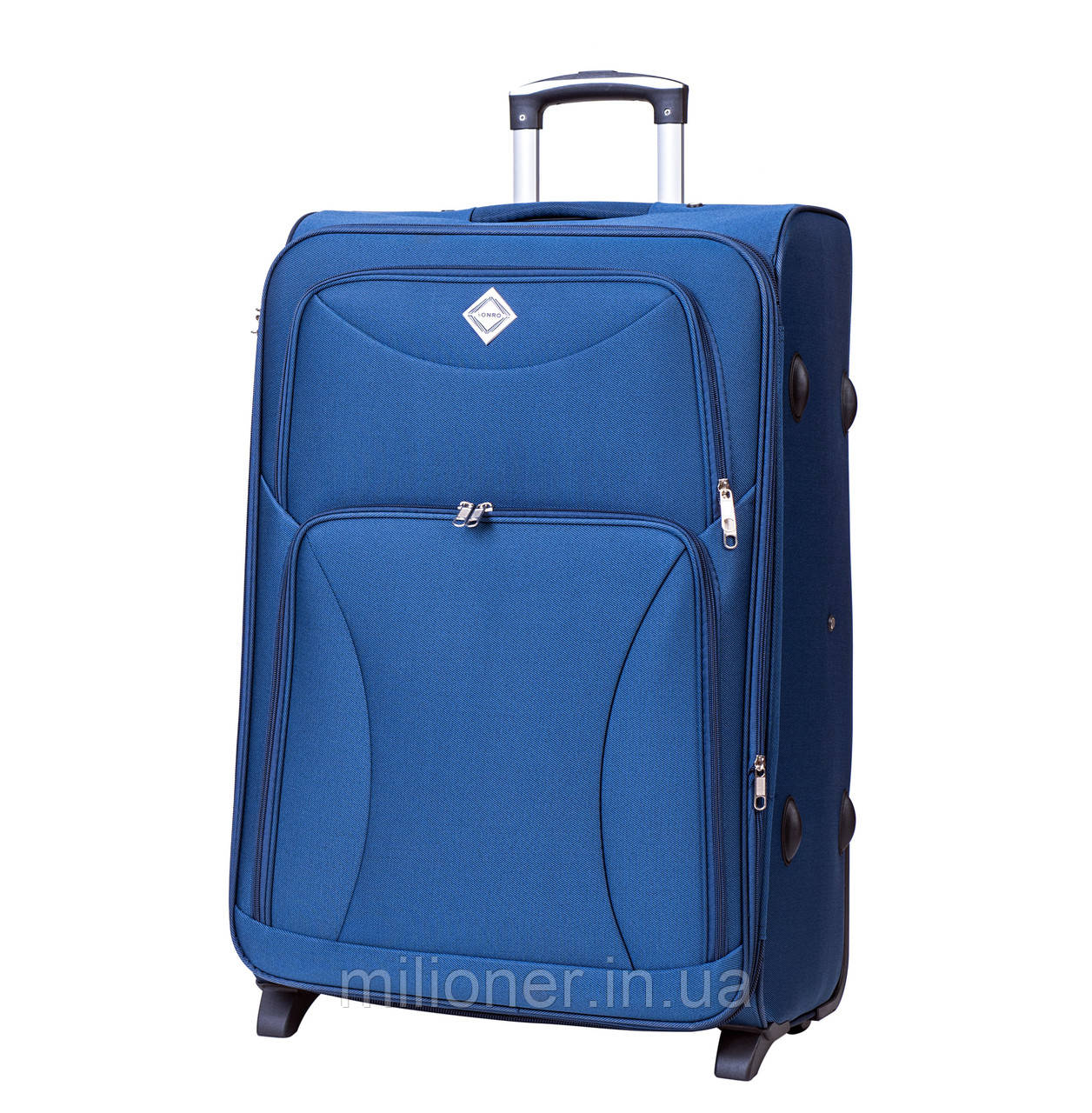 Чемодан Bonro Tourist (небольшой) синий
