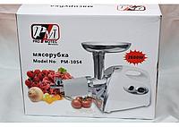 Электромясорубка Promotec PM 1054 2600W с насадкой для томата