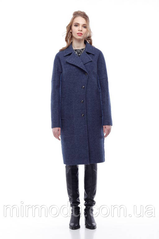 Пальто Монреаль(Италия) синий джинс с 42 по 52 размер