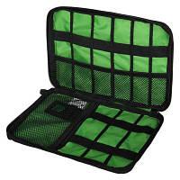 Портативная сумка для хранения электронных аксессуаров из полиэстера анекс тур Чёрный