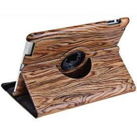 SupreMax изысканный многоцветный дизайн складные PU кожаный чехол стенд для iPad - Коричневый