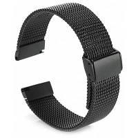 Браслет для Samsung Gear S3 Classic / Gear S3 Frontier Чёрный
