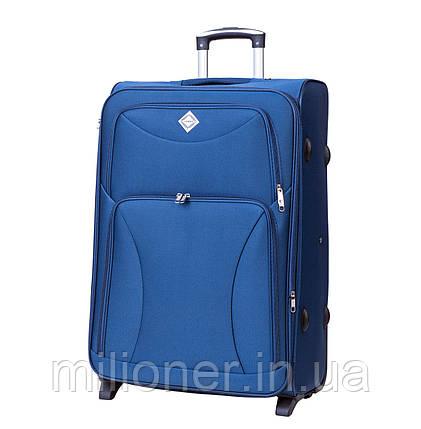 Чемодан Bonro Tourist (средний) синий, фото 2