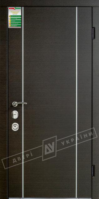 "Двери БС ""МИЛАН"" (2/4) ""MOTTURA"" Венге темный горизонт"