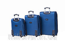 Чемодан Bonro Tourist (большой) синий, фото 2