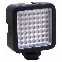 Мини 49 светодиодный видео свет для фотоаппарат Canon / Nikon DSLR камеры видеокамеры DVR DV Чёрный