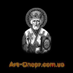 Вертикальная акриловая табличка Николай Угодник 300Х400