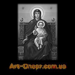 Вертикальная акриловая табличка Мать с младенцем 180Х240 мм