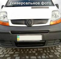 Решетка радиатора зимняя для Opel Astra G '98-10 верхняя, матовая (Украина)