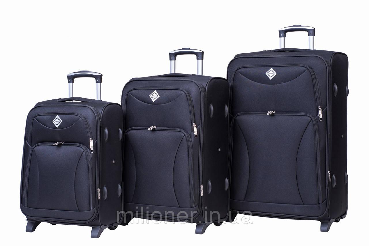 Чемодан Bonro Tourist набор 3 штуки черный, цена 2 543 грн. комплект ... 3e578de09f5