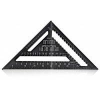 30 см алюминиевый сплав регулировка угла треугольника Чёрный