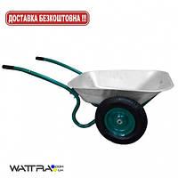 Тачка садовая FORTE WB6407 двухколесная, объем вода / песок 70/140 л, грузопод-сть 120 кг, вес 14 кг