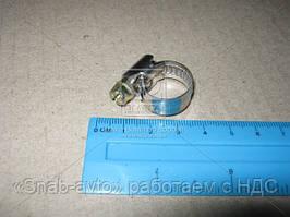 Хомут затяжной нержавейка 10х16 (производство Китай) (арт. Хомут 10-16)
