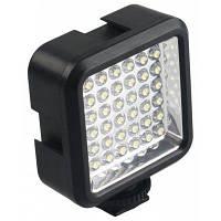 36 светодиодная видео лампа+аккумулятор+зарядное устройство фотоаппарат Nikon / Canon для DV видеокамеры DSLR камеры Чёрный
