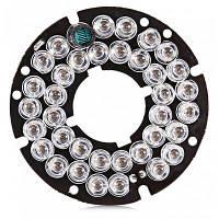 36 Красный светильник ночного видения светодиодная инфракрасная световая пластина для скрытые видеокамеры Чёрный и зелёный