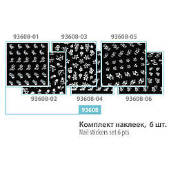 Комплект наклеек SPL,    93608 (6 шт.)