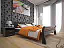 Кровать двоспальная с натурального дерева в спальню ТИС РЕТРО 1 160*190 сосна, фото 5