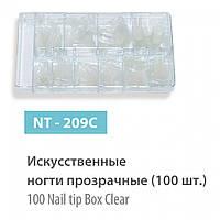 Искусственные ногти (типсы) SPL,    прозрачные 100 шт.