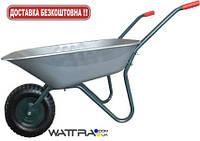 Тачка садовая FORTE WB6407A одноколесная (вода/песок 65/142 л, 120 кг, вес 11 кг)