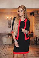 Костюм двойка платье с пиджаком 885051