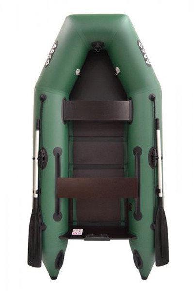 Плоскодонная двухместная надувная плоскодонная моторная ПВХ лодка ARGO АМ-270. Отличное качество. Код: КГ3109
