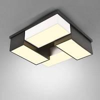 220В стильный современный простой квадратный светодиодный потолочный светильник 32W