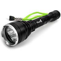 ТС-Т6 3 x кри XML T6 с 4500 Люмен 5 режимов светодиодный фонарик-черный 70039