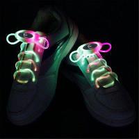 YWXLight шнурки СИД партии способа вспышки Диско светящиеся неоновые шнурки RGB